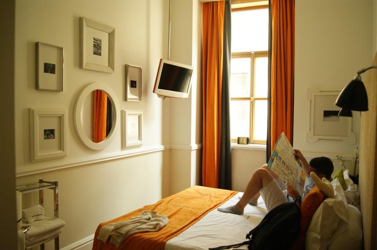 Hotelzimmer Lissabon