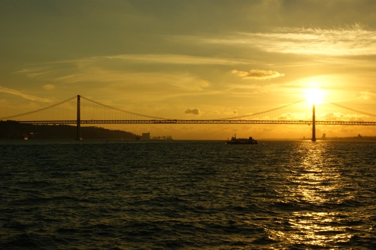 Ponte 25 de Abril, Brücke von Lissabon