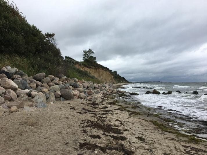 """Strand unter dem """"Wäldchen"""""""