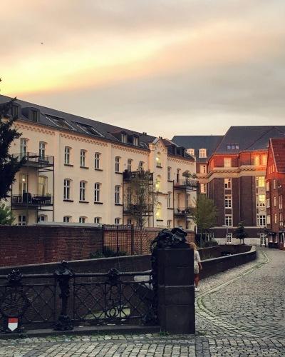 Die Altstadt am Abend