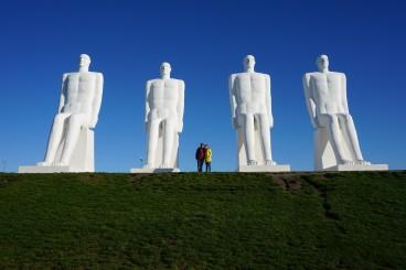 Das Denkmal von Esbjerg
