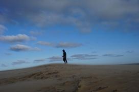 Windig war´s beim Rubjerg Knude Fyr!