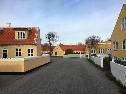 Die gelben Häuschen von Skagen