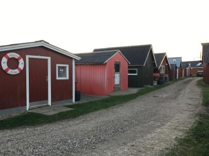 Rote Häuser in Ringkøbing