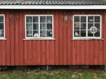 Fischerhütte in Ringkøbing Havn